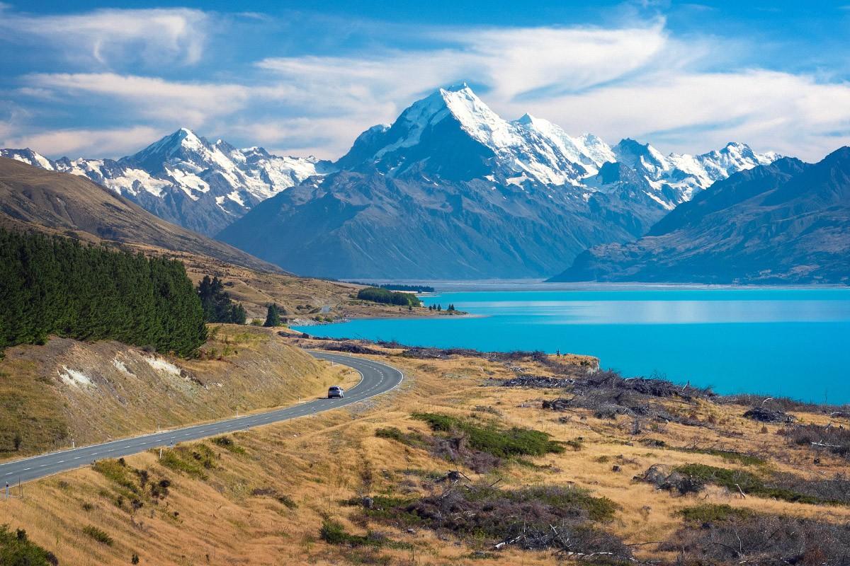 Kriski Lake Pukaki Mackenzie Country New Zealand