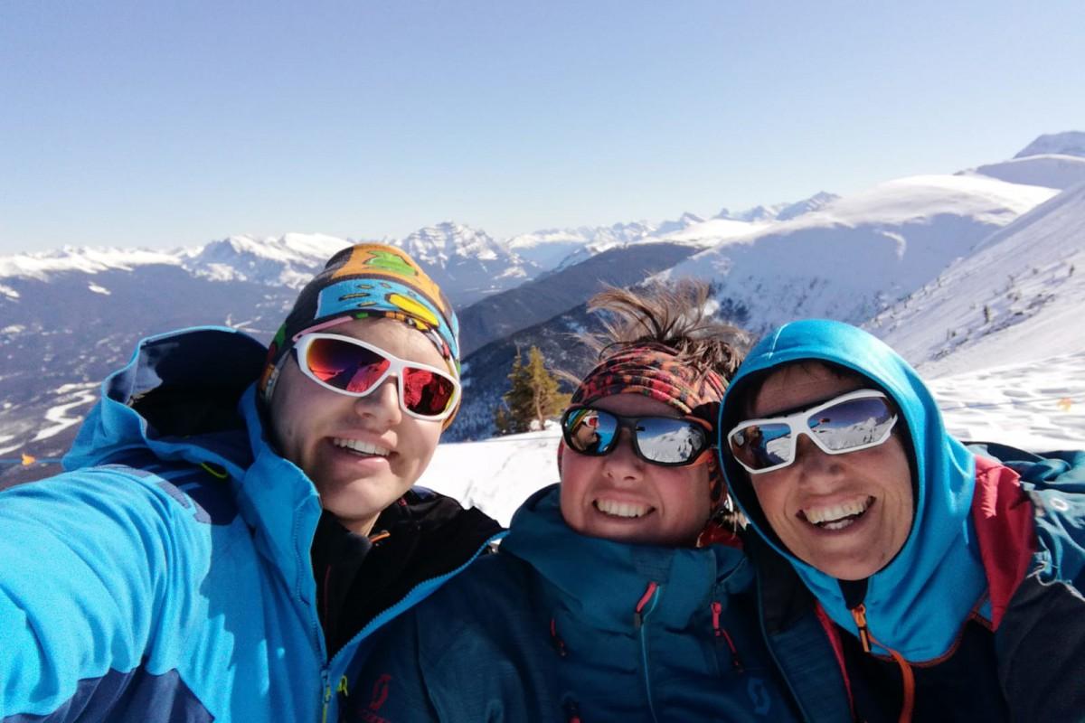 Kriski Plus ski in jasper