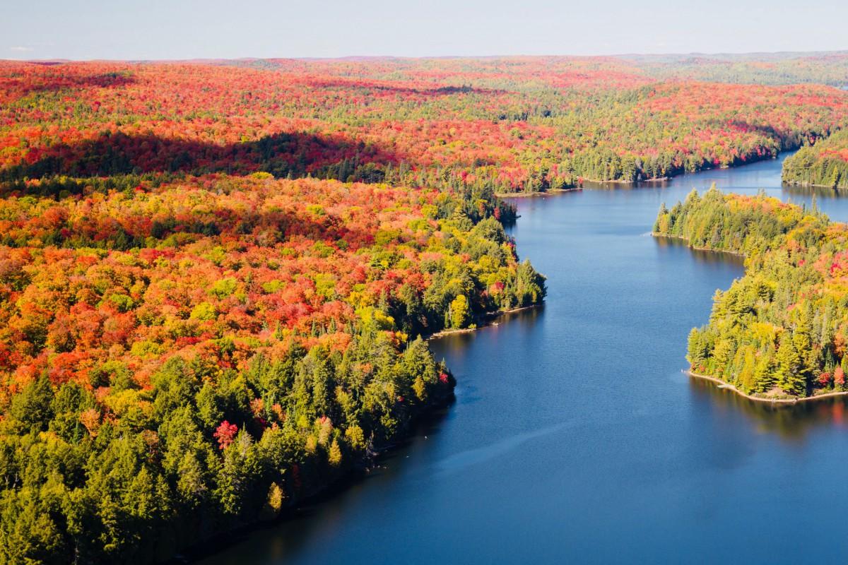 Kriski reis canada oost, indian summer, natuurparken canada