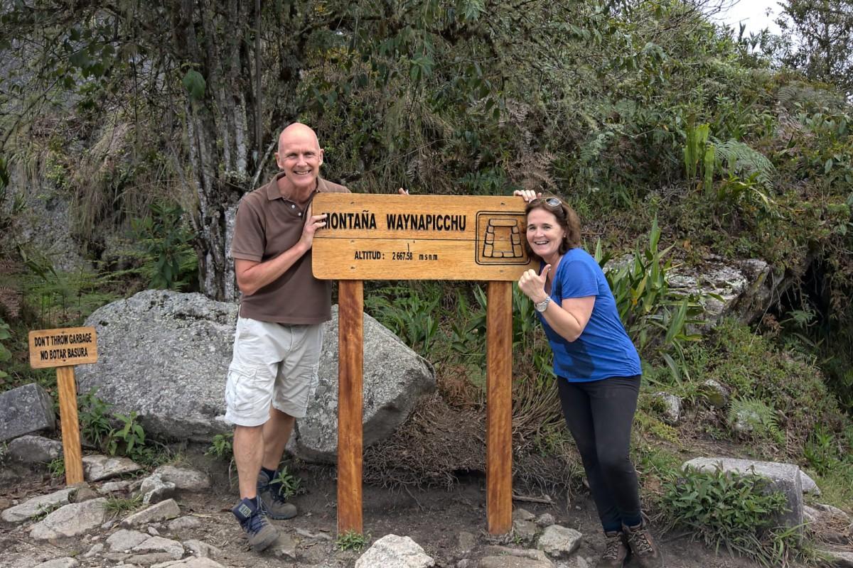 Kriski Plus Beklimming van de Huayna Picchu.
