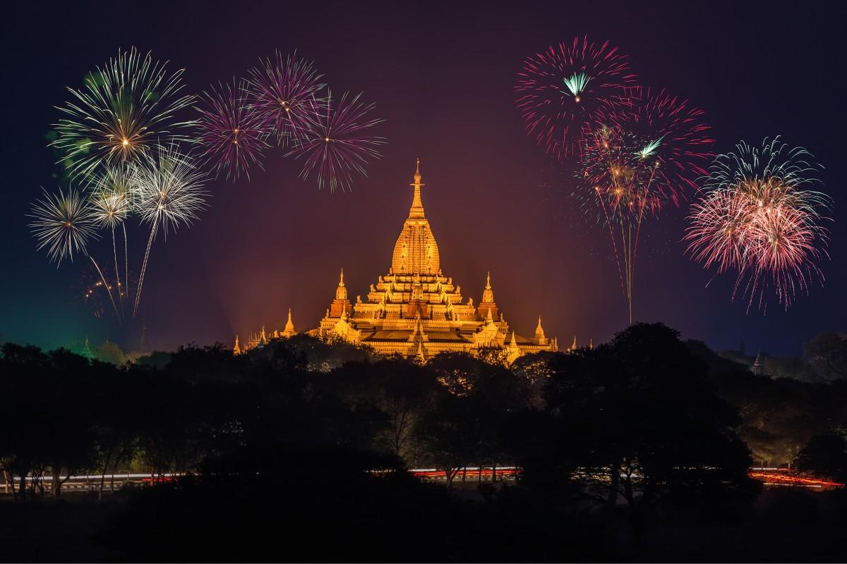 Kriski nieuwjaar vieren in het buitenland, oudejaar in Thailand, nieuwjaar