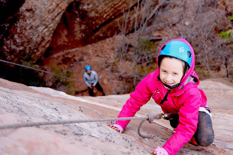 Canyoning in Zion National Park Trotseer steile canyons en woelige rivieren Kriski Plus
