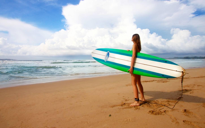 Trotseer de golven van de Indische Oceaan Surfparadijs Sri Lanka Kriski Plus