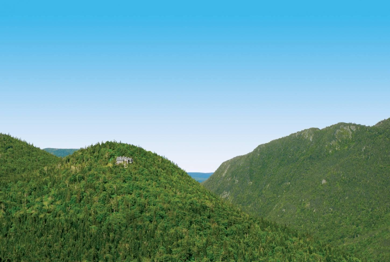 Laad je batterijen op tussen de Oost-Canadese heuvels Even weg van de bewoonde wereld Kriski Plus