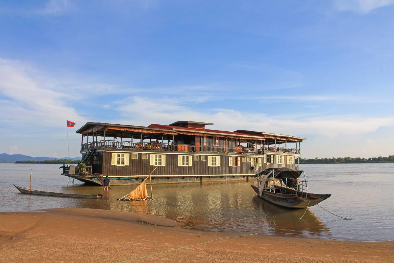 Koloniale cruise op de Mekong Eén van 's werelds mooiste vaarroutes Kriski Plus