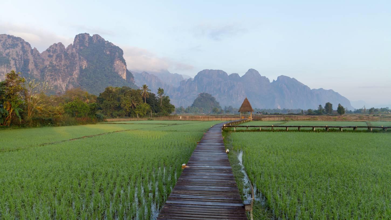 De Vang Vieng Loop Een tocht langs grotten, poelen en viewpoints Kriski Plus