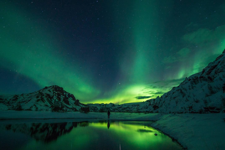 Het Noorderlicht achterna Winter wonderland met een unieke belichting Kriski Plus