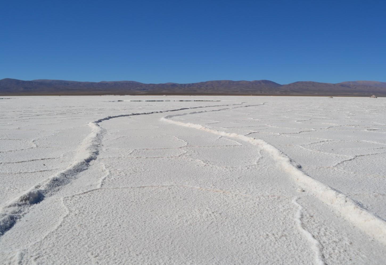 De zoutvlakten van Salinas Grandes Kriski Plus