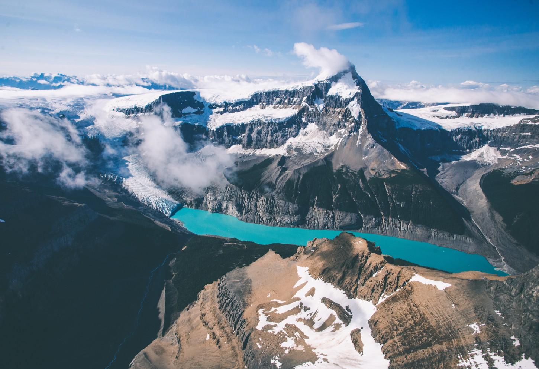 Gletsjers tellen op de Icefields Parkway Kriski Plus