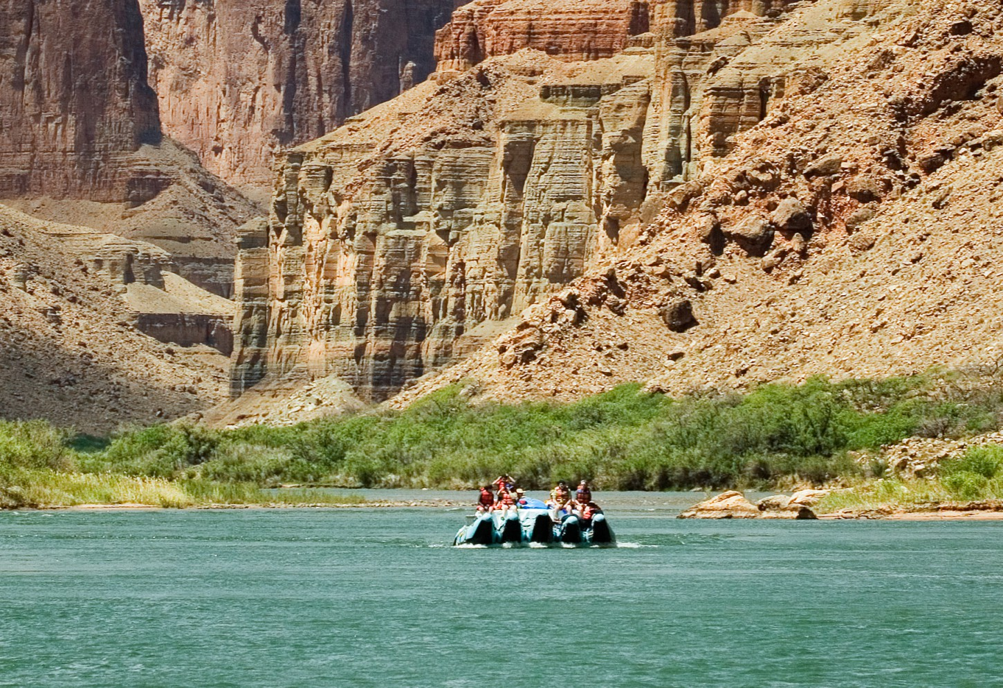 Meerdaagse raftingtocht door de Grand Canyon Kriski Plus