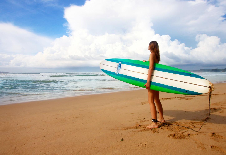 Trotseer de golven van de Indische Oceaan Kriski Plus