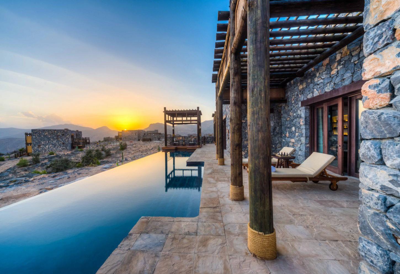 Luxueus logeren in het Jabal Akhdar massief Kriski Plus