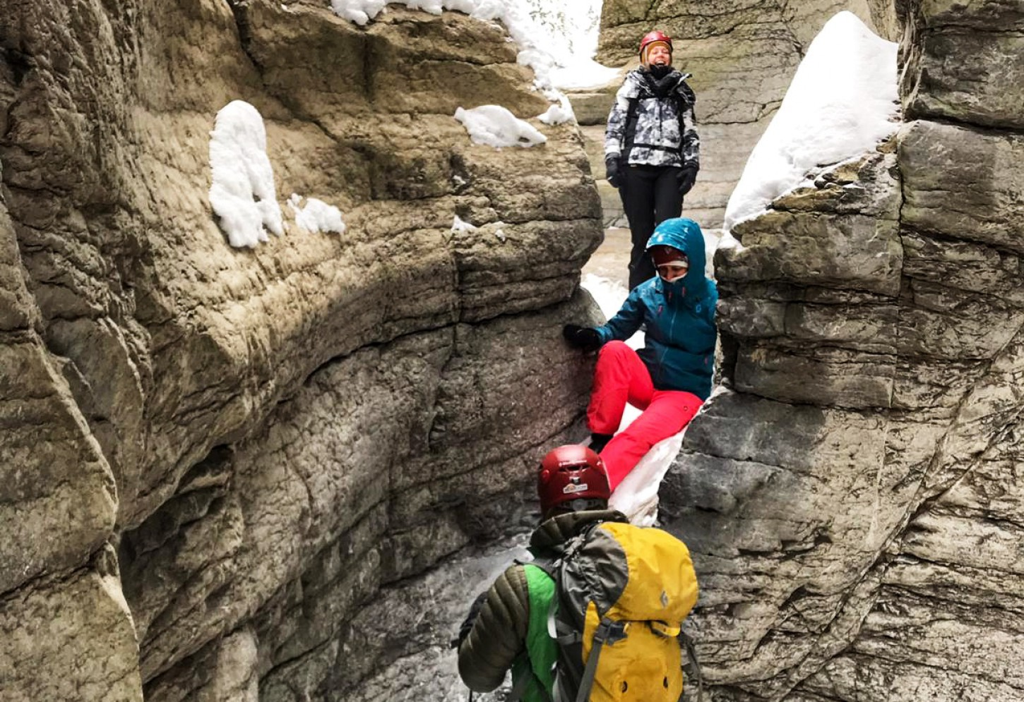 IJswandeling door Maligne Canyon Winterse magie! Kriski Plus