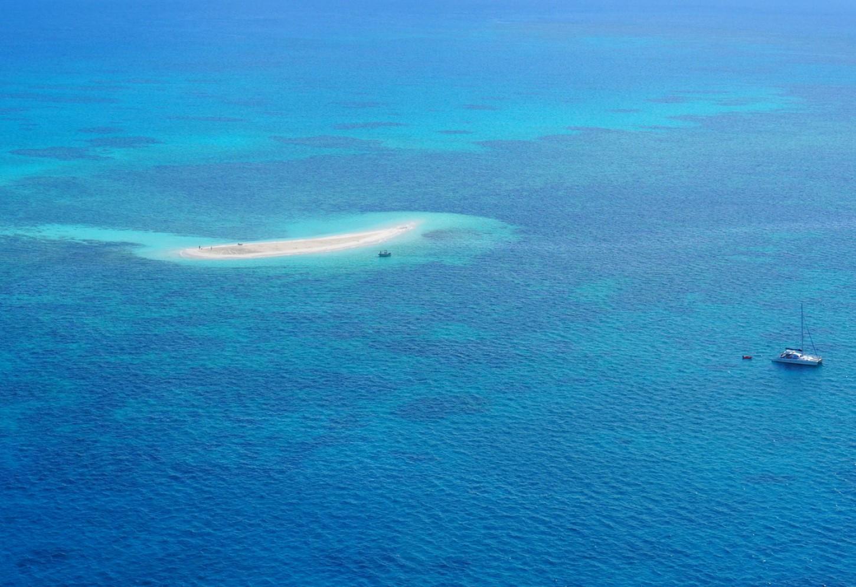 Robinson Crusoe achterna bij het Great Barrier Reef Kriski