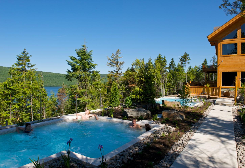 Luxueus verblijf in de bossen van Oost-Canada Kriski Plus