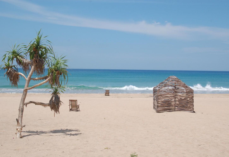 Je eigen hutje op een paradijselijk strand Logeren in een authentieke strandbungalow in Nilaveli Kriski Plus