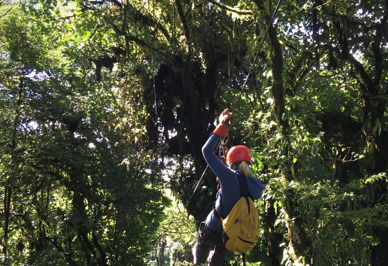 Vlieg als Superman door het Nevelwoud van Monteverde Kriski Plus