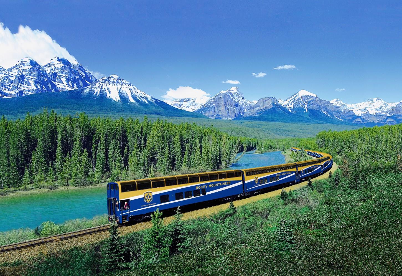 Van Vancouver tot de Rockies Panoramische treinrit in alle comfort Kriski Plus