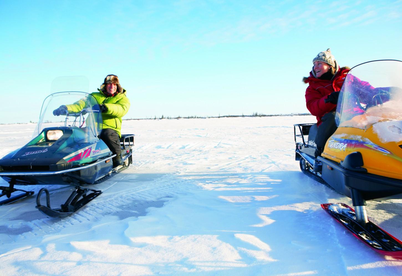 sneeuwscooter canada Kriski Plus