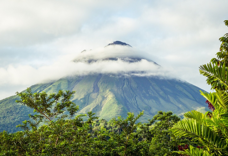 Ontwaak met zicht op Volcan Arenal Kriski Plus