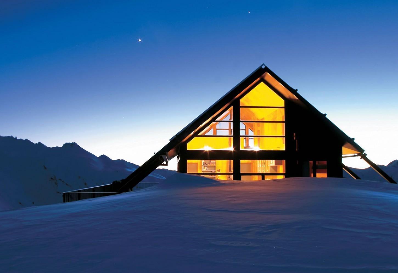 Luxe Alpenlodge op het Zuidereiland Kriski Plus