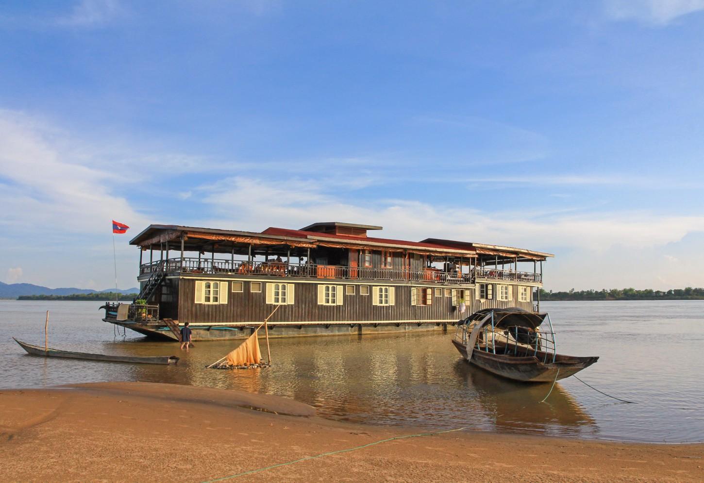 Koloniale cruise op de Mekong Kriski