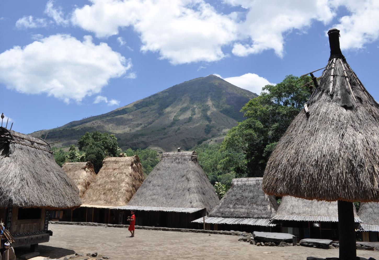 Op bezoek bij de Ngada clan in Belaraghi Kriski Plus