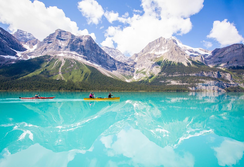 canoeing Jasper Kriski