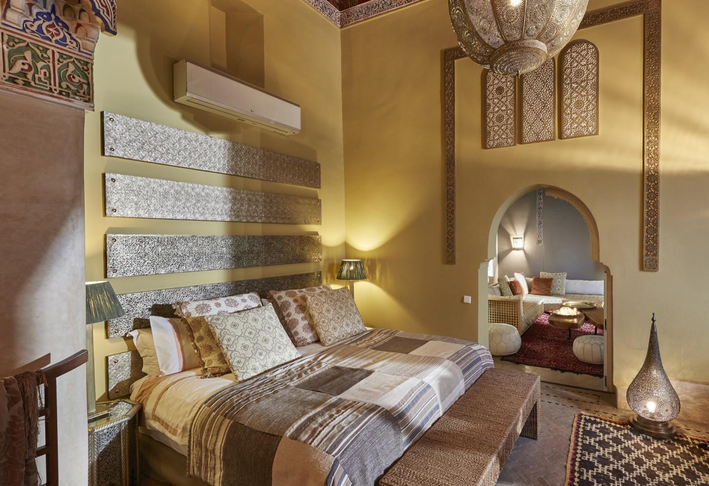 Glitter en goud Verblijf als een sultan in een smaakvolle luxe riad in het hartje van de Medina van Marrakesh Kriski Plus