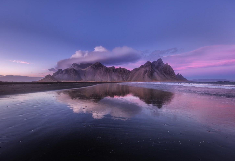 De gehoornde bergen van het oosten Bewonder de Batmanberg in Stokksness Kriski Plus