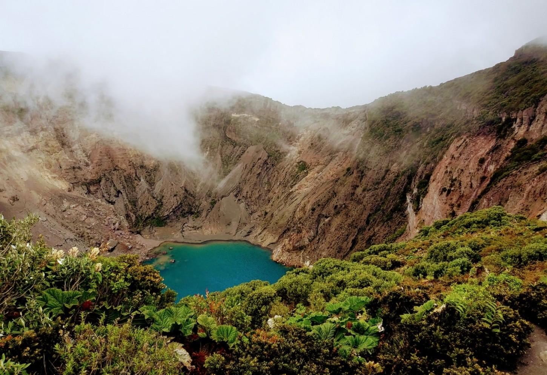 Kriski Plus Irazu volcano Costa Rica